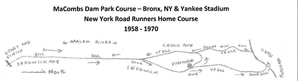 An early NYRR race course in the Bronx.  Image courtesy of Gary Corbitt.