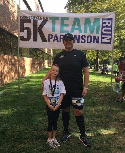 Walsh's daughter ran a one-mile race last summer, continuing the family's fitness tradition.