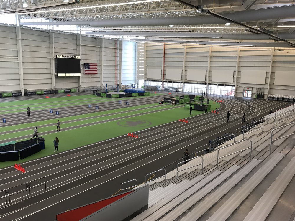 The state-of-the-art Ocean Breeze Athletic Complex opened at South Beach in 2015.