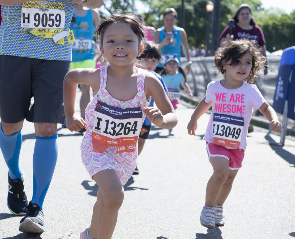 A Donation in Someone's Name - NYRR's programs help nearly 250,000 children each year, encouraging them to get moving, set goals, and develop healthy habits like daily exercise. By making a donation in someone's name, you will also be helping kids in need.