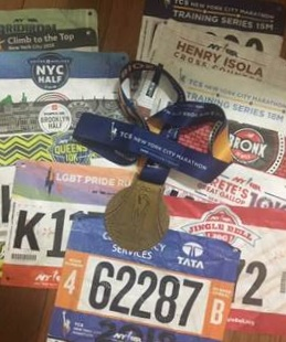 In 2018, Halarewicz completed the 9+1 program, guaranteeing her spot in the 2019 TCS New York City Marathon