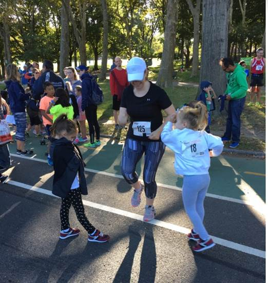 In 2019, Halarewicz also hopes to help her nieces catch the running bug and involve them in more youth running programs.