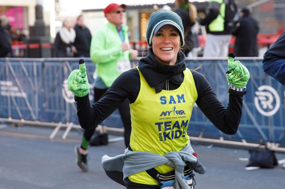 Ryan makes her miles count for something more as an NYRR Team for Kids Ambassador, which allows her to raise money for NYRR's free youth fitness programs.