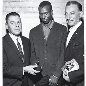 Ted Corbitt with other early members of NYRR.