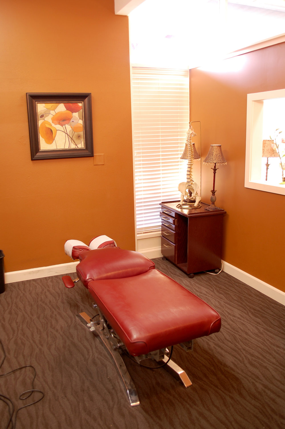Columbia City Chiropractic Treatment Room
