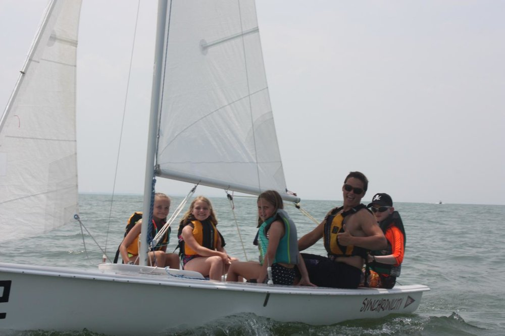 Sailing in a JY