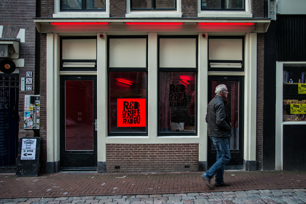 Outside in Amsterdam - Image courtesy of Red Light Radio