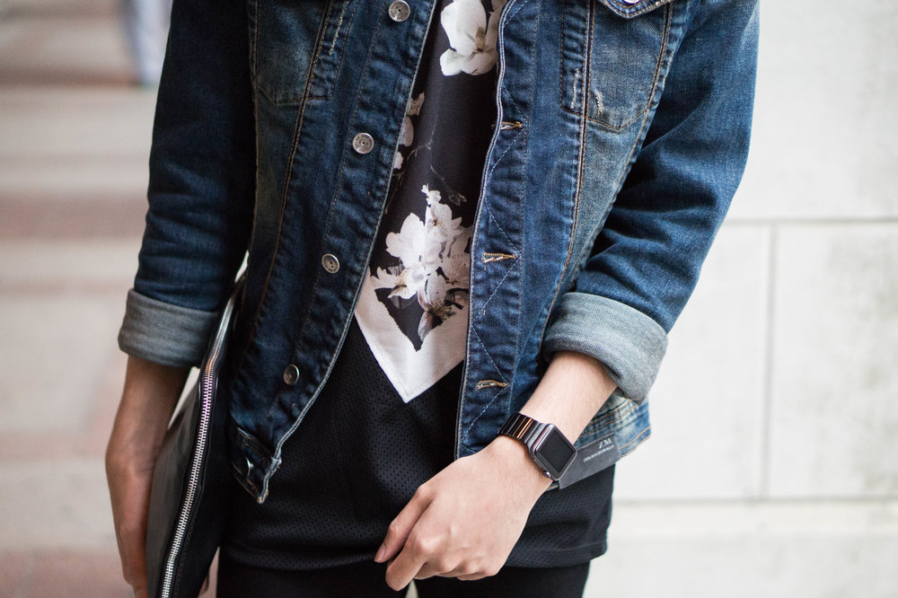 Floral and Denim by Marc Gamboa