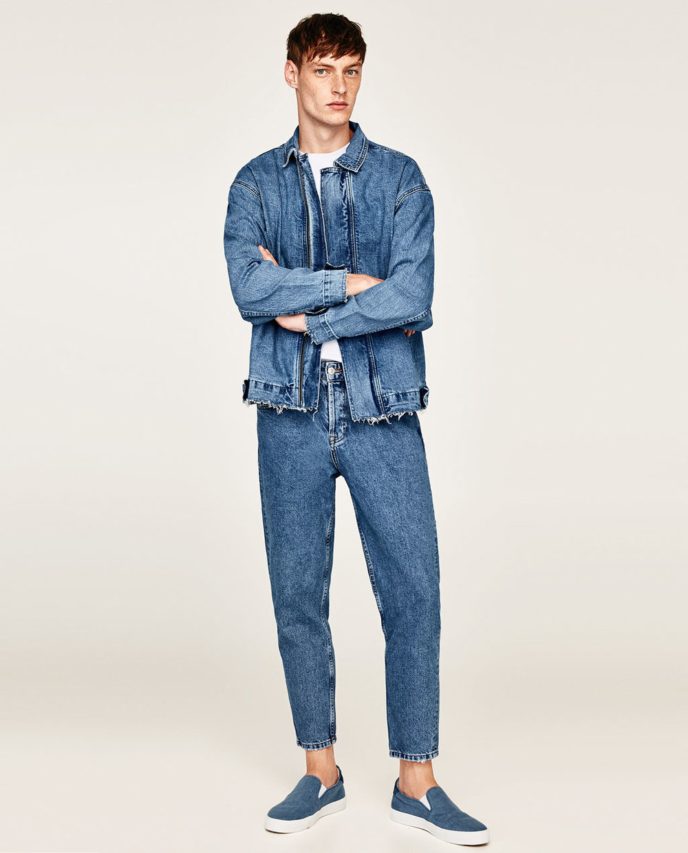 Zara Denim Essentials Jacket