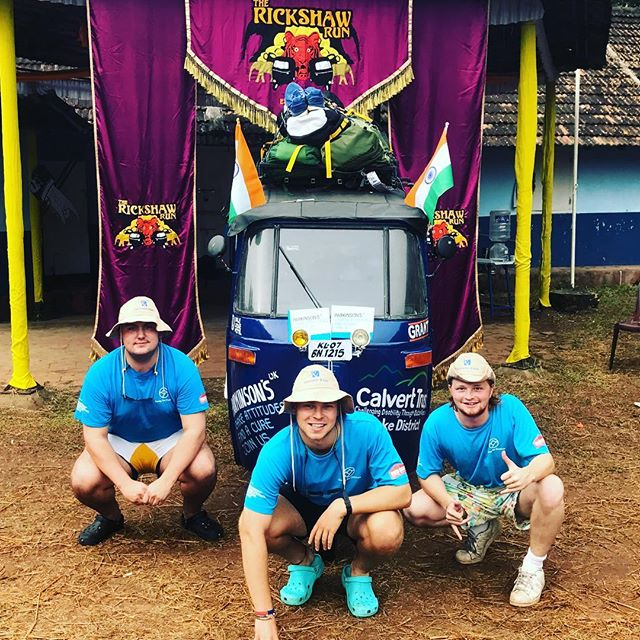 3500km-7hp-14days........... Going The Distance take to the roads! #rickshawrun2017 #parkinsonsuk #calvettrust #donthitacow #startline #goingthedistance #ralphsdelihbellyprep #clicklinkinbio
