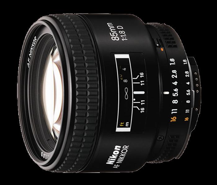 Nikkor 85mm f/1.8 AF-D, Freakin' superb.