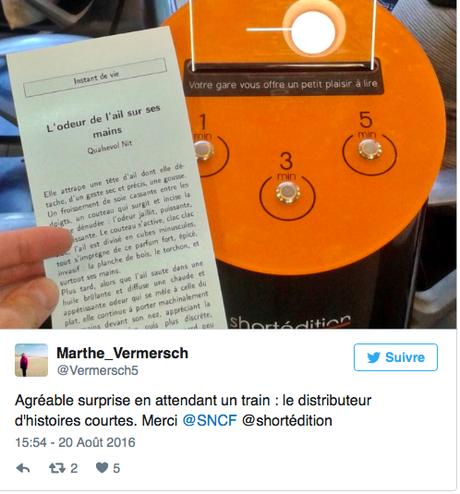 Distributeur d'histoires Courtes/ Short Stories Vending Machine