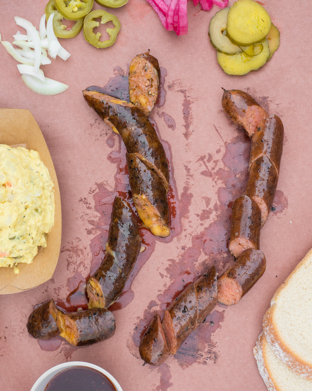 Jeremy Pawlowski Portland Texas Austin Amarillo Food Photographer Photography Fare Photo Studios bbq barbecue barbeque jalapeno sausage