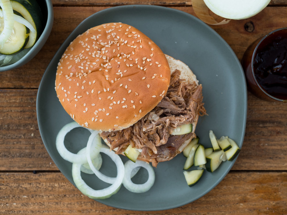 food photographer jeremy pawlowski southern dished pulled pork