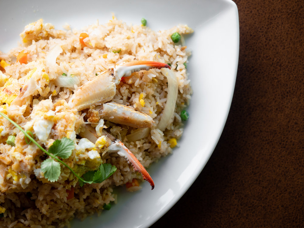 classic thai cuisine jeremy pawlowski portland oregon texas food photographer photography restaurant crab fried rice