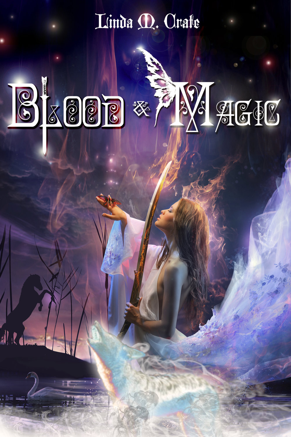 Blood & Magic  by Linda M. Crate, 2015