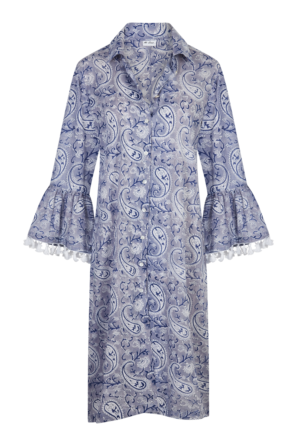 At Last Maxi Coat - Delft