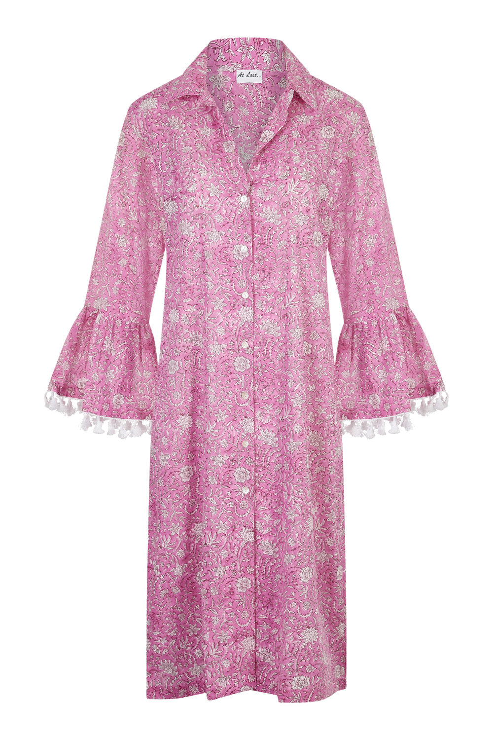 At Last Maxi Coat - Bubblegum Pink