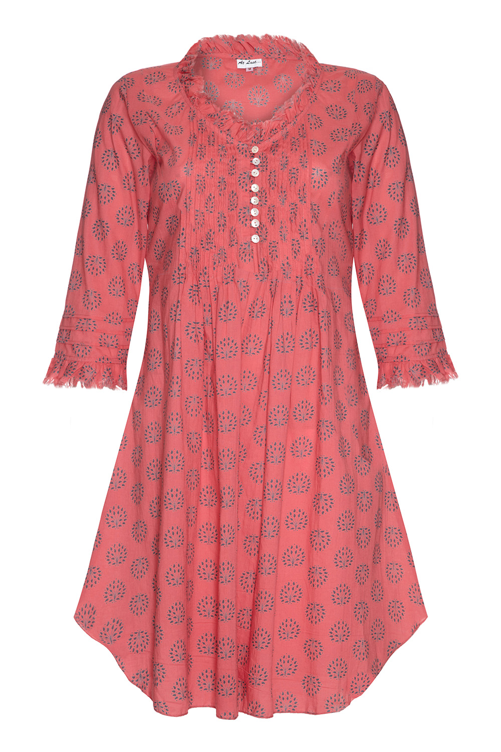 At Last Annabel - Coral Print
