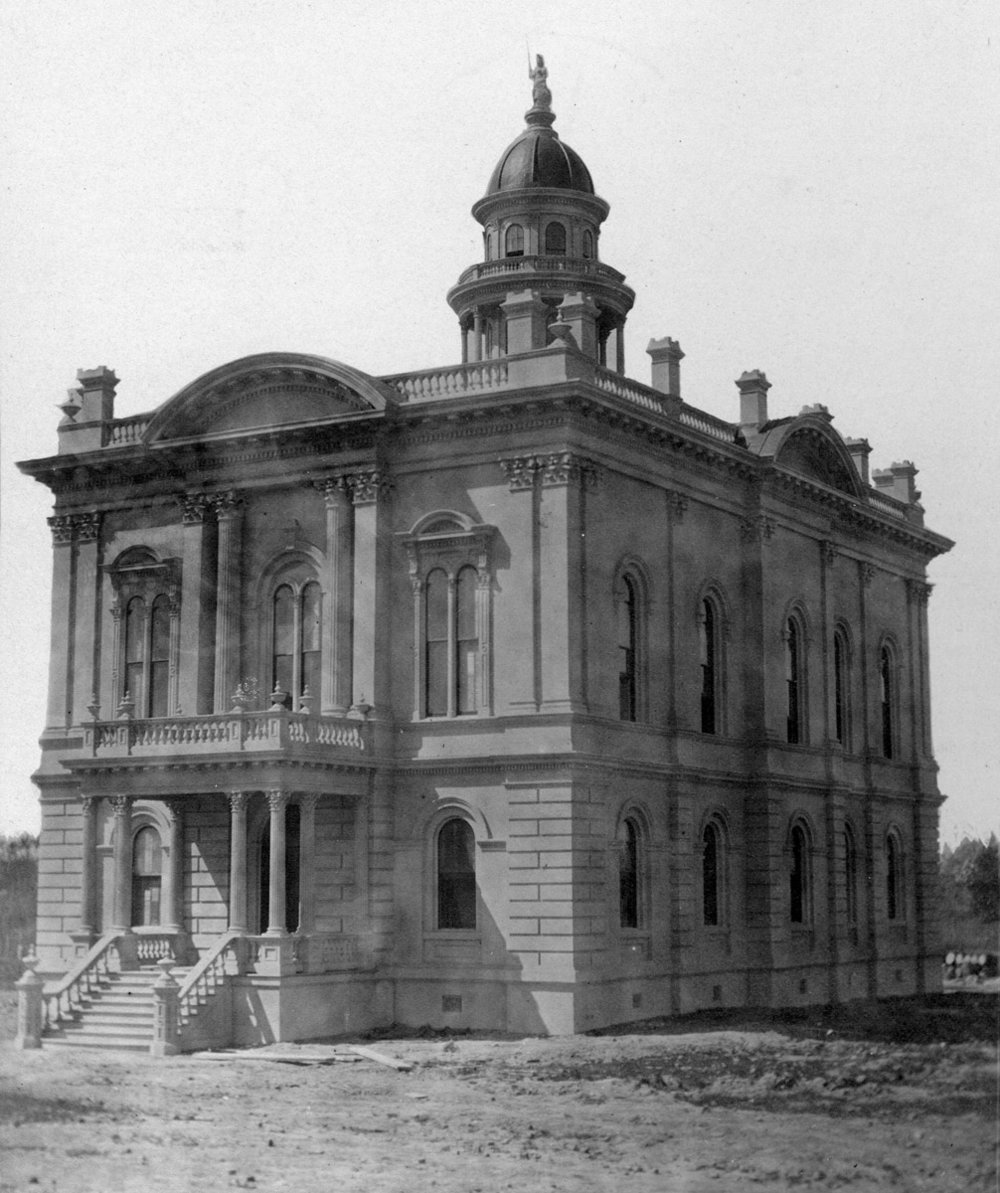 Kern County Courthouse. 1876.