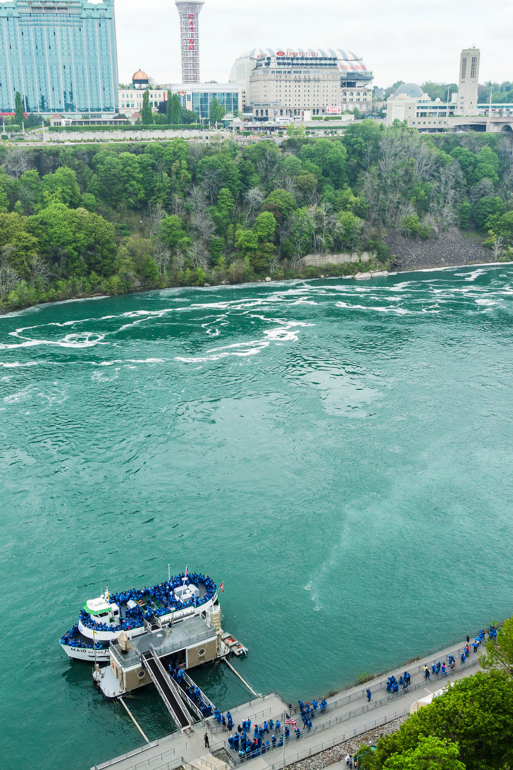 Our vessel for viewing the falls.