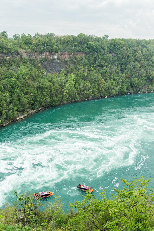 Niagara Whirlpool. Yup, a whirlpool.