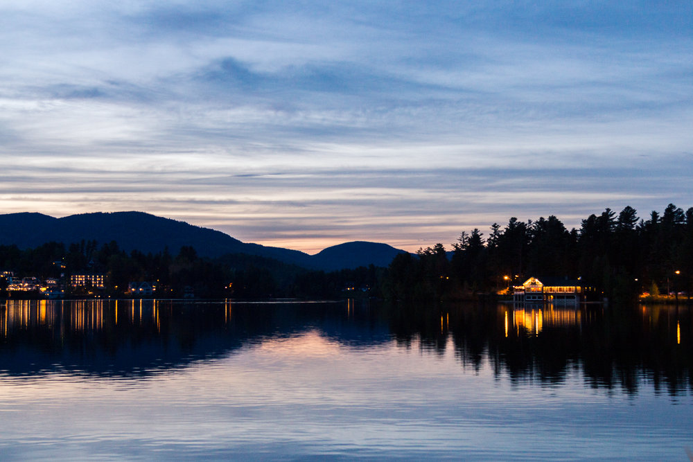 Lake Placid - Nice town and decent grub in the midst of stunning wilderness.