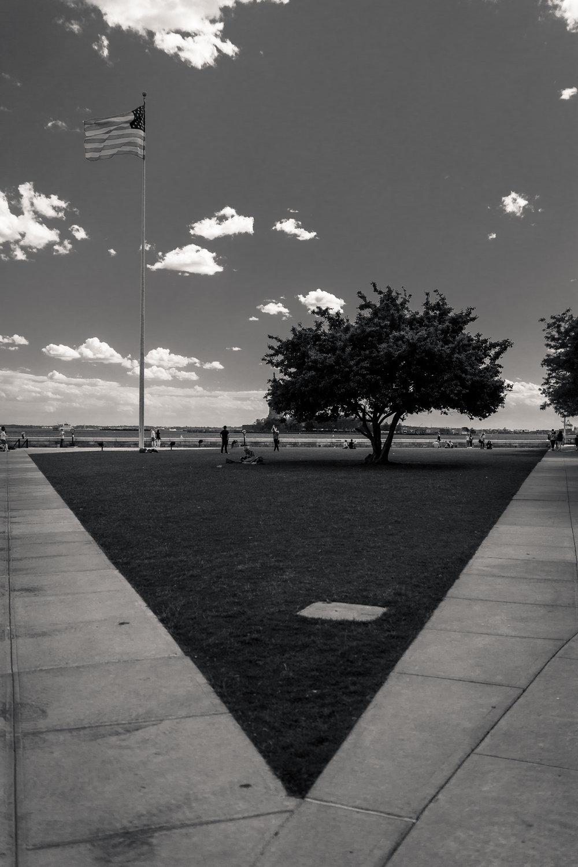 Ellis Island.