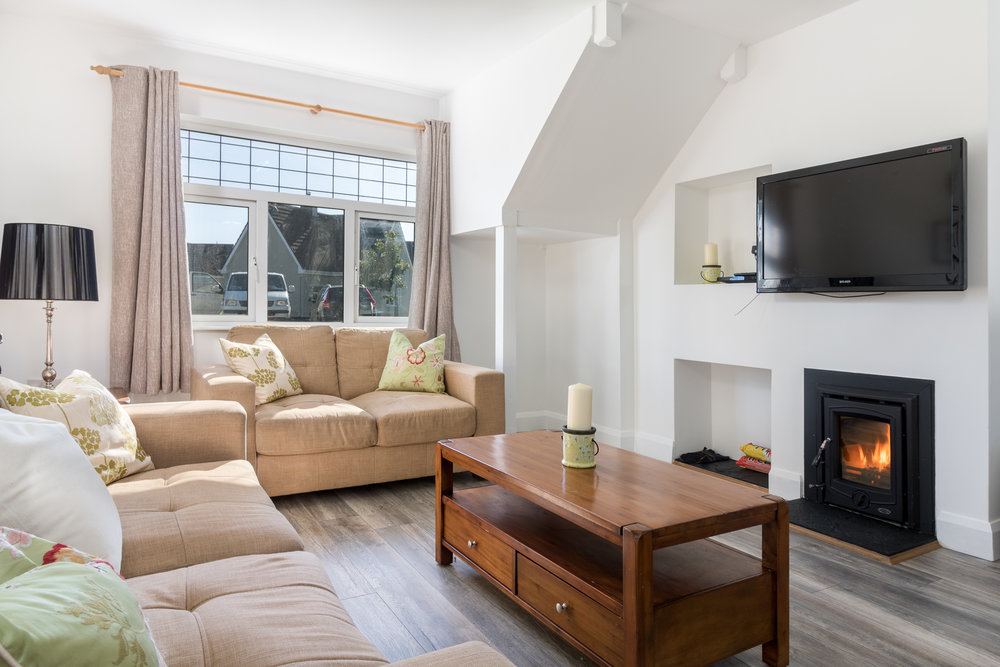 Warm Holiday Home Lounge