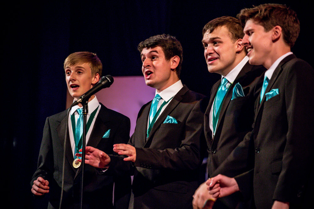 4 On Demand - 2016 British National Youth Quartet Champions