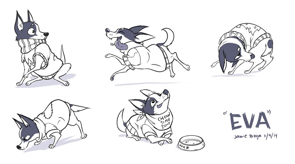 eva character sketches 2014.jpg