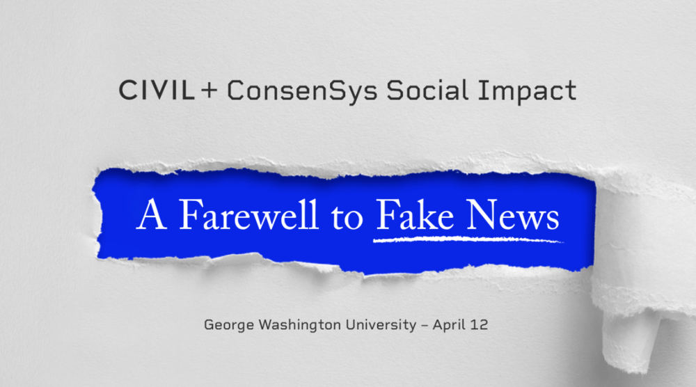 A Farewell to Fake News
