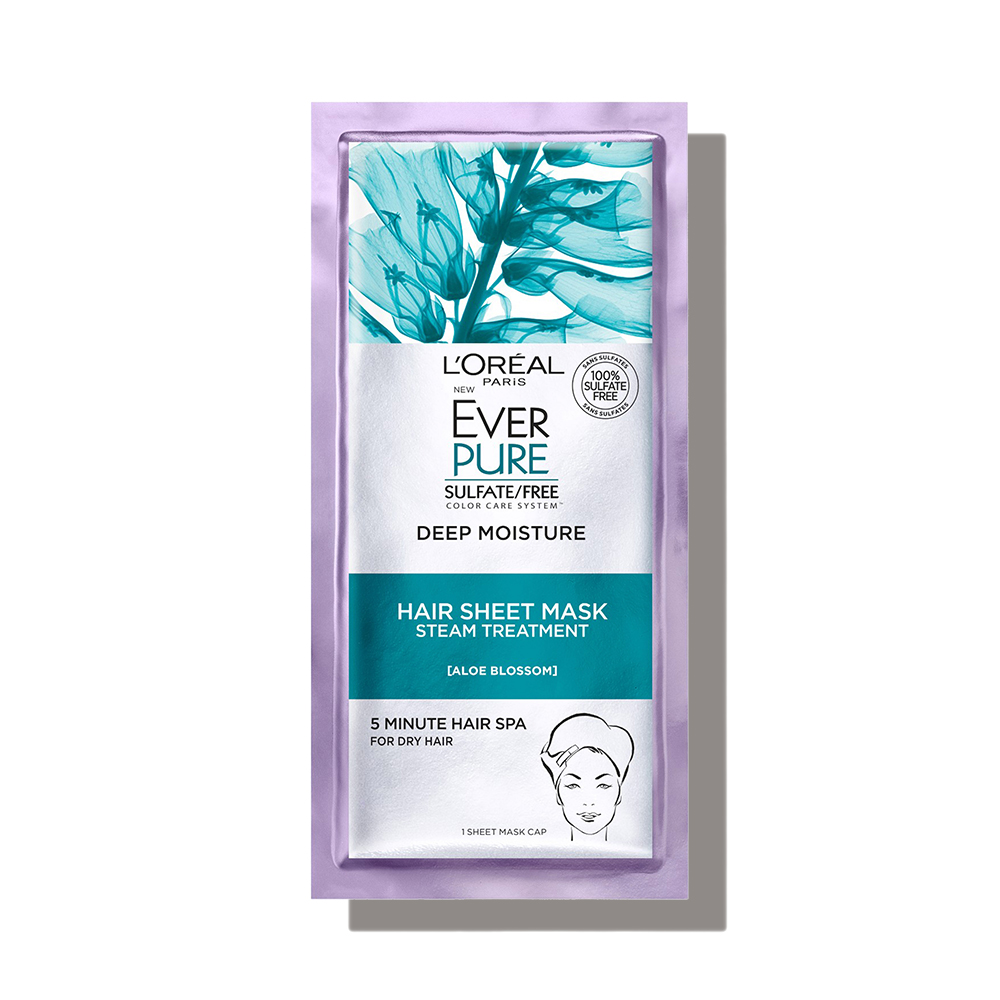 L'Oréal Everpure Deep Moisture Hair Sheet Mask*