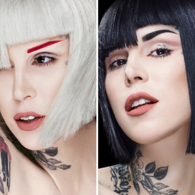 Kat Von D Talks About Her New Brow Collection and Why She Launched Seven Rainbow Brow Pomades