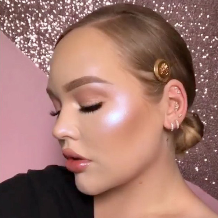 NikkieTutorials Teased Her Space Baby Highlighter
