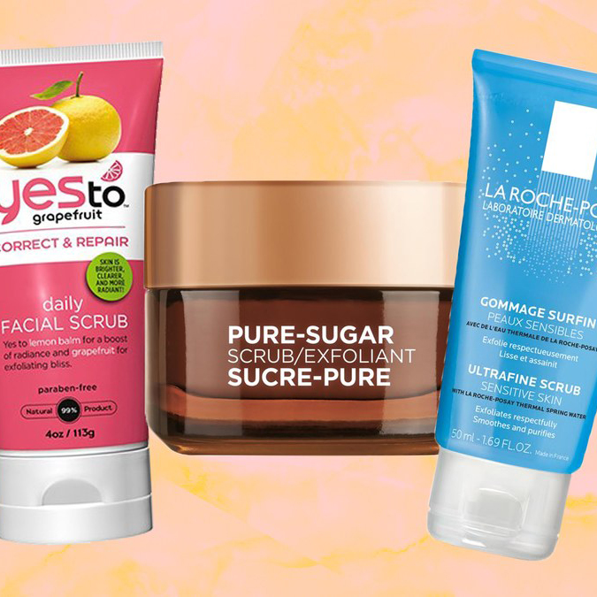 The 13 Best Face Scrubs Under $20 That Give You Glowing Skin