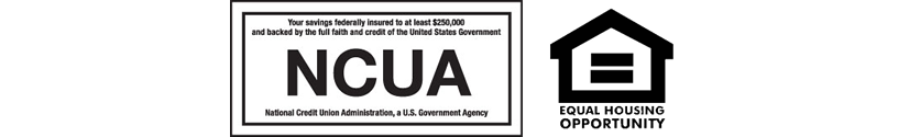 NCUA and Equal Housing logo