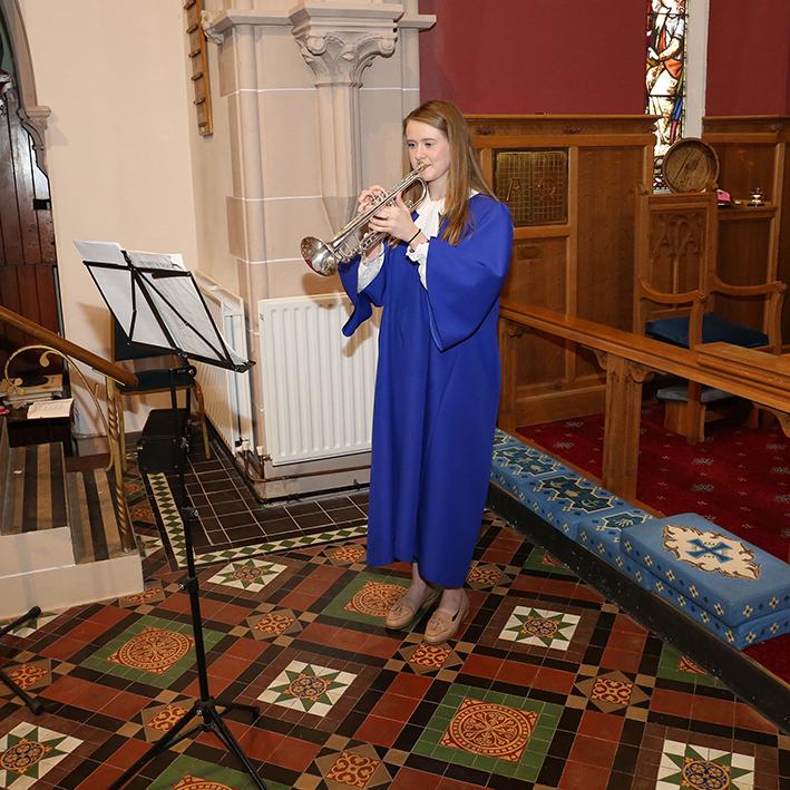 Guest trumpeter - Anna Brittain