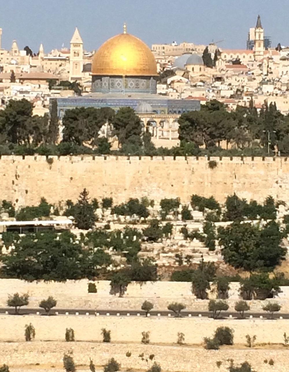 Dome of the Rock shrine, Jerusalem