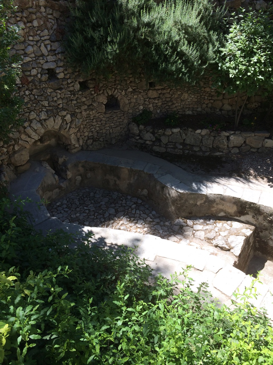 The Wine Press near the Garden Tomb, Jerusalem