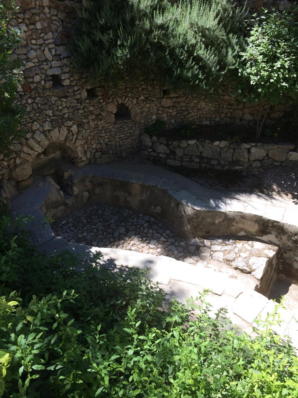The Wine Press near the Garden Tomb, Jerusalem