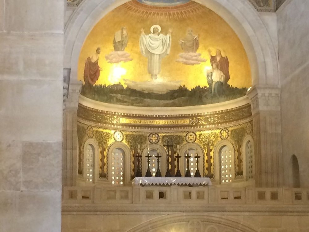 The Altar in the Church of the Transfiguration
