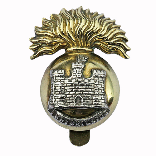 Royal Inniskilling Fusiliers Cap Badge