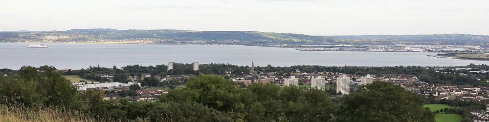 View from Carnmoney Hill