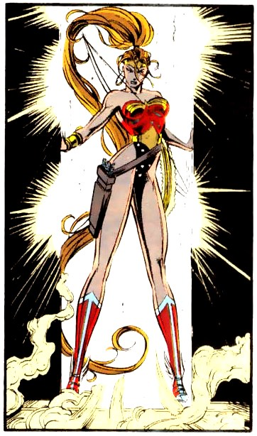 Also, Artemis was Wonder Woman for a while because that was the hip thing to do.