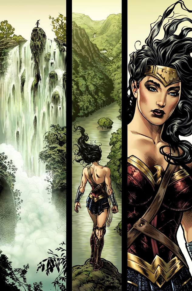 We have Some Thoughts on Sharp's depiction of Wonder Woman.