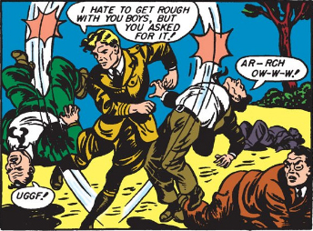 Nothing takes out Nazis like a particularly enthusiastic Charleston!