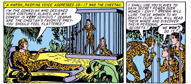Never change, golden age Wonder Woman comics.