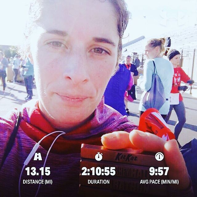 Hershey Half Marathon! My first running race! It stopped raining before the run, but it was windy. I placed 283 out of  842 in my age group.  Overall I finished 1572  out of 3942.  I can't wait for yin yoga tonight with @yogini_morgan22 at @ommyyoga Her class is awesome come check it out! A great way to end the weekend especially after a long run.  #hersheyhalfmarathon #hersheypark #halfmarathon #bucketlist #running #chocolaterecovery #raceday
