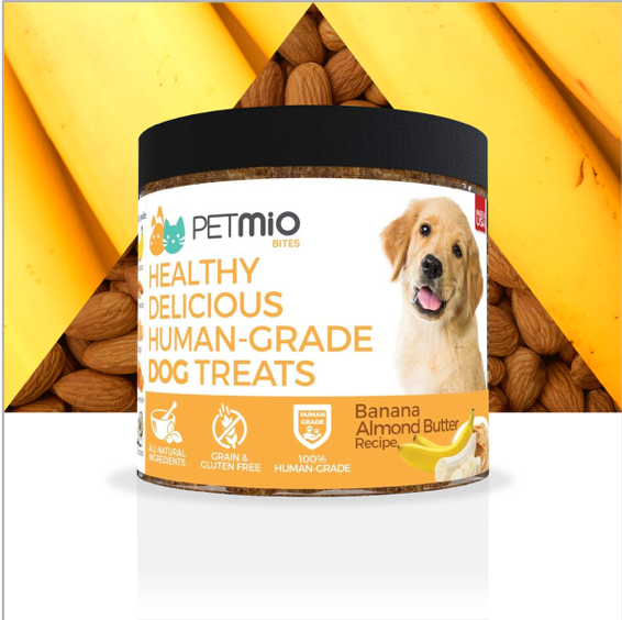 You might start begging your pup for @PetMio's Dog Treats. 🍽️ These healthy, delicious bites meet some of the highest levels of human food standards. Find them on #AmazonLaunchpad. #loveshistreats #petweek